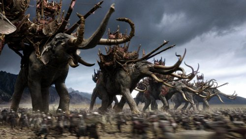 Lord of the Rings Return of the King Oiliphants